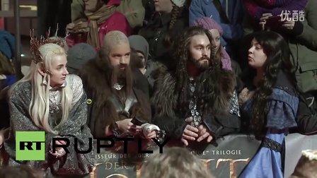 2013-12-9 霍比特人2柏林首映 by RuptlyTV 红毯