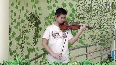 一把小提琴的二重奏—作曲:尼科洛.帕格尼尼,独奏:梁爽