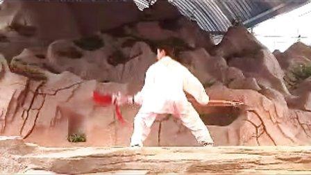 王桐70寿辰徒孙(陈志松弟子)表演春秋大刀
