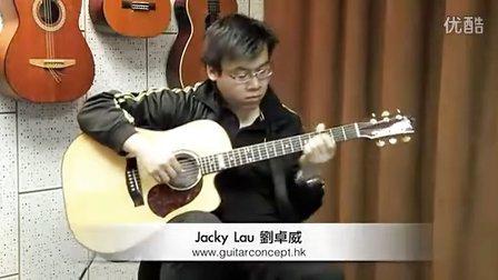 Fingerstyle吉他演奏诗歌示范﹣You Raise Me Up-by Jacky Lau