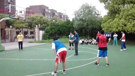 上海市松江一中 男子篮球联赛 高一(7)班VS高一(11)班 结束前四分钟