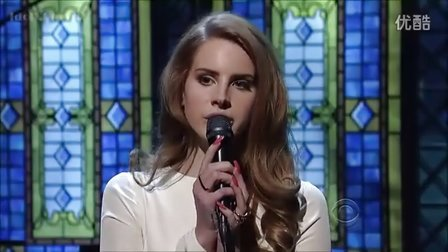 Lana Del Rey - Video Games (David Letterman)