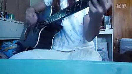 YUI cover SUMMER SONG guitar Kasa8830
