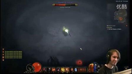 Athene极限挑战:暗黑破坏神3蓝装猎魔人击杀炼狱Diablo