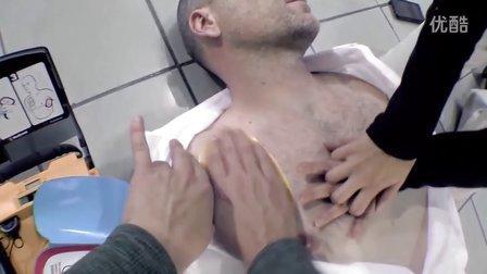 帅哥急救 AED and CPR