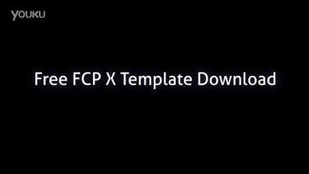 Lights for final cut pro x插件模版