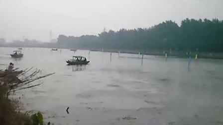 兴化市第五届乌巾荡龙舟赛蔡堡队
