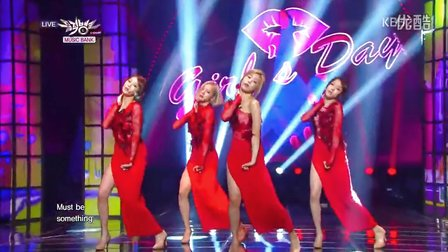 20140103Girl's Day (걸스데이) - Something  @ Comeback Stage