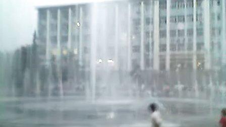 问道中国网拍山西师范大学喷泉