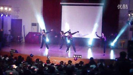 惠州一中 舞蹈器乐大赛总决赛 李峥王涵艺《Painkiller》