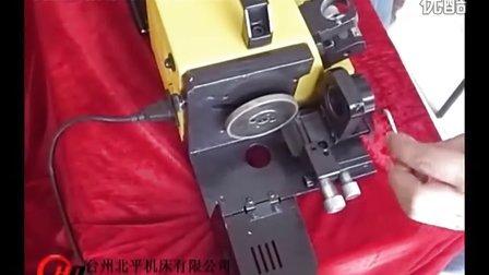 LX13铣刀螺旋刃磨机视频,趣赢游戏,铣刀螺旋刃磨操纵