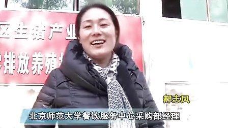 北京高校联采考察龙岩养猪场