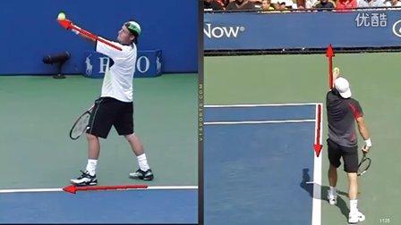 网球发球技术分析3