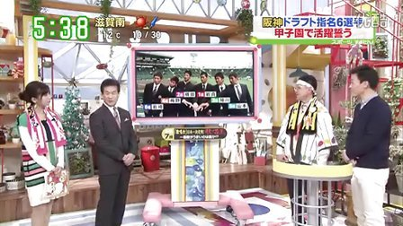 阪神目線 20131209 新入团选手参观甲子园