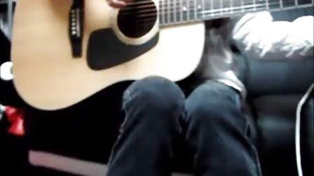 YUI cover Green a.live guitar raimu016chie