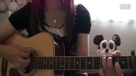 YUI cover Green a.live guitar chakotan85