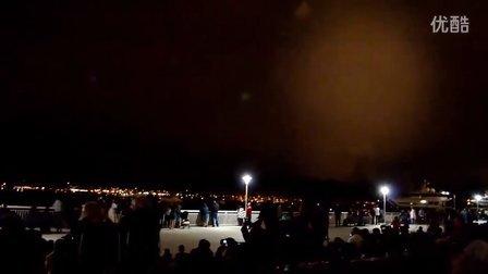 2012 San Diego Fireworks Fail