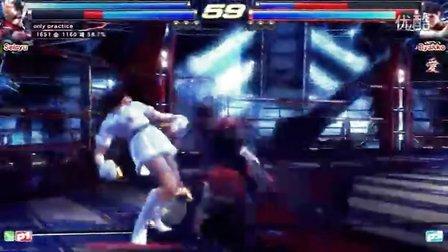 铁拳TT2 Hao,Only_Practice vs Fran