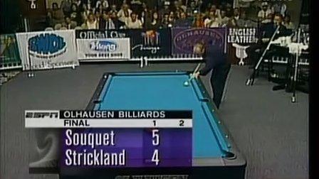 1996冠中冠决赛 Earl Strickland vs. Ralf Souquet