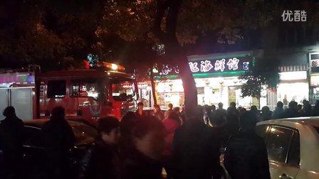 温州西城路煤气泄漏 引围观2014-01-15 19:09