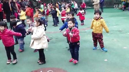 幼儿园开放日之做早操