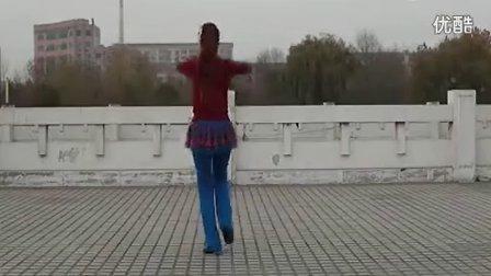 云裳广场舞--我和我的小伙伴们都惊呆了(分解与背面示范)