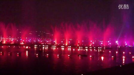 苏州金鸡湖音乐喷泉