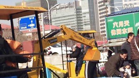 济南省体中心   儿童挖掘机 发明专利产品--济宁微装
