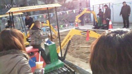 2014最火游乐项目 儿童挖掘机 儿童挖土机 --济宁微装