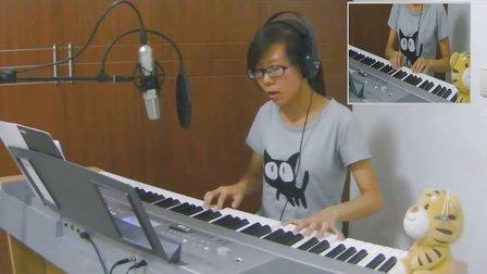 我的歌声里 娘子翻唱 钢琴弹唱 DGX640