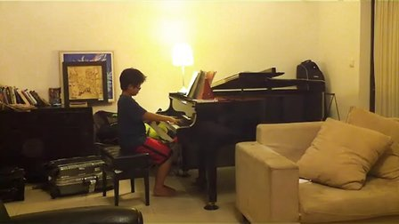 未来音乐家-3  对歌   Ethan 邱一森 上音钢琴第七级 愤怒的小鸟 angery Bird