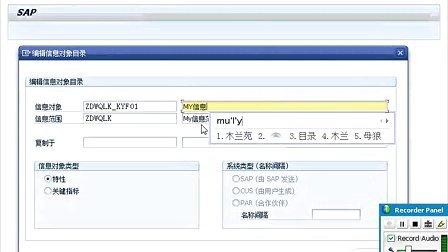 SAP培训_BW HANA视频02_BW信息对象