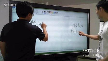 X-TOUCH 夏普70触摸屏Win8双人书写