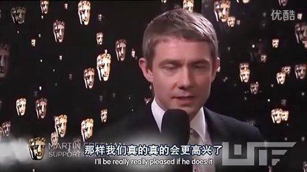 【WTF字幕组】Martin Freeman 2011BAFTA 获奖后台(中英双语字幕)