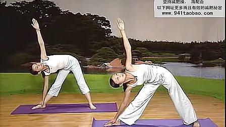 减肥瑜伽初级教程 减肥瘦身 减肥瑜伽 瑜伽减肥 减肥视频 高清下载瘦身瑜伽