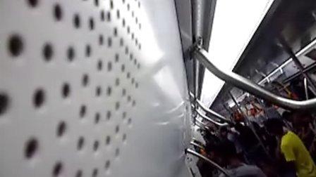蛇口线212车在环中线-灵芝报站
