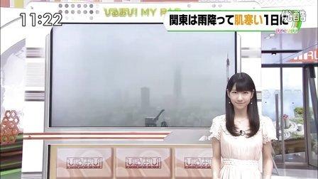 2012.05.22『ひるおび』天気予報 柏木由紀