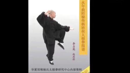 2012年精品 正宗杨太极刀   永年李占英