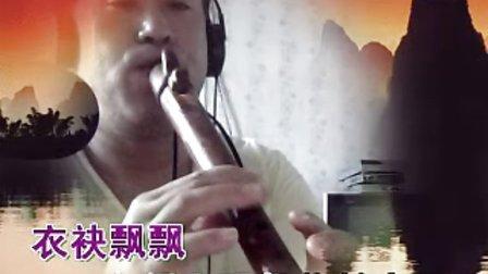 自制C调哨笛演奏   白狐