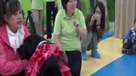 2012年10月11日导盲犬珍妮走进幼儿园