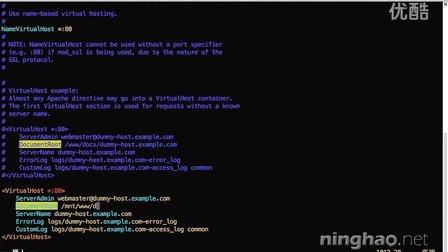 03-04-创建虚拟主机《CentOS:阿里云服务器配置》