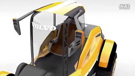 沃尔沃的未来概念装载机