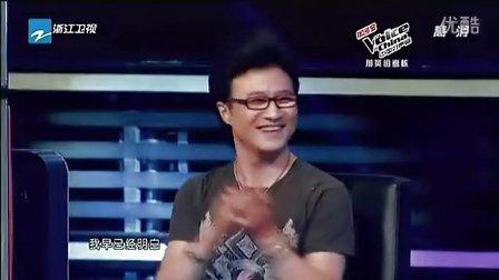 中国好声音20120907张赫宣PK卓义峰《无言》(高清)