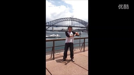 my solo in Sydney.