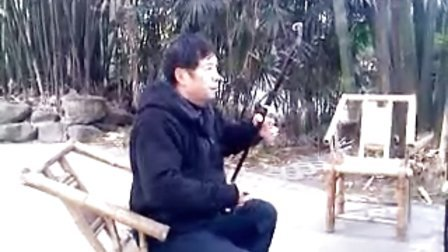 2012.12.8.老庞在成都望江公园演奏《喜送公粮》