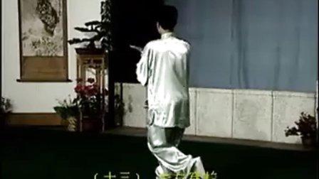 40式杨式太极拳----(全套动作分解)