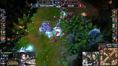 CLG.eu versus TSM game 2