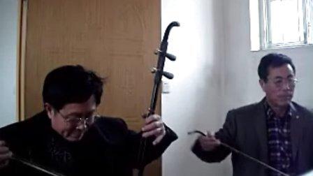 2014年海阳柳树庄京,二胡合奏新年汇演01