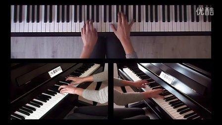 陪练视频 门德尔松E大调无词歌 Op19 No1 中国音协钢琴考级 八级1-10小节