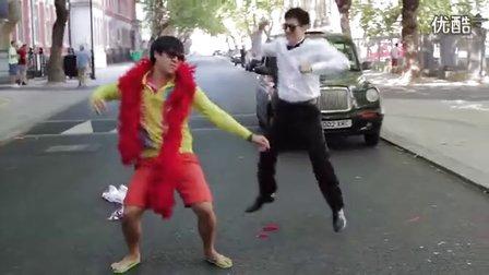 {嚜尔夲啲翡翠}江南STYLE  LONDON STYLE (PSY Gangnam Style C